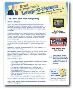 brad's newsletter