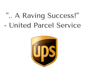 A Testimonial by United Parcel Service for Brad Montgomery, a motivational speaker